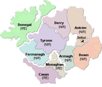CAMC Ulster Centre Area Map Image
